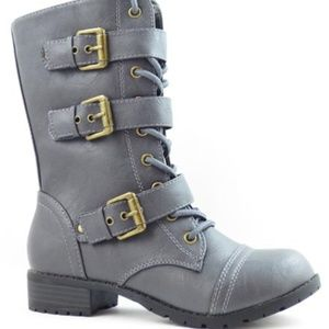 NEW Kali Triple Buckle Lace Boots